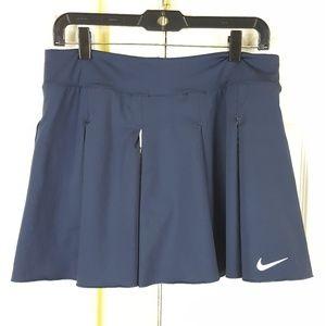 Nike Dri Fit Mesh Pleats Tennis Golf Skort Large